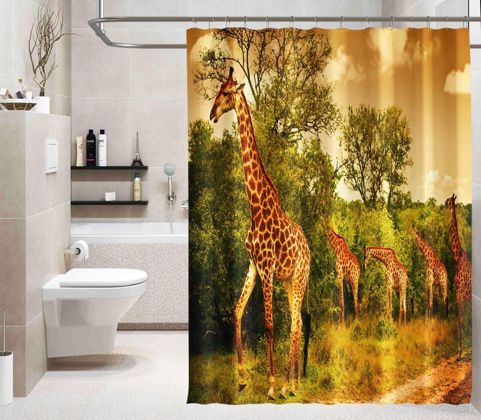 Home & Garden 3d Brüllen Löwe 7 Duschvorhang Wasserdicht Faser Bad Daheim Windows Toilette De