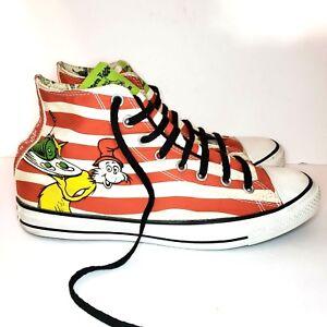 Converse All Star X Dr. Seuss Green Eggs   Ham Mens 10 Hi-Top ... 50f86ff17
