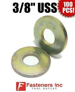 """3//4/"""" Extra Thick Flat Washers SAE Grade 8 Hardened MCX Mil-Carb Qty 100"""