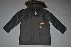THE-NORTH-FACE-BOYS-MCMURDO-DOWN-PARKA-GREY-HEATHER-2XS-BRAND-NEW-AUTHENTIC