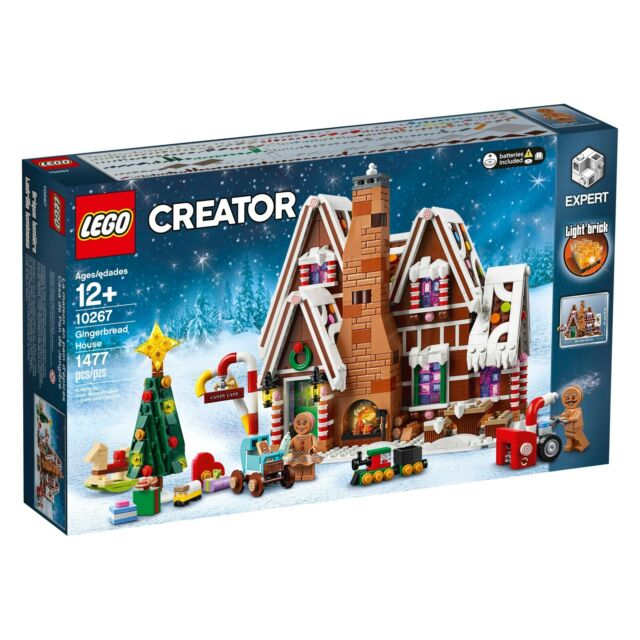 LEGO CREATOR EXPERT CHRISTMAS TOY 10267 Gingerbread House For Age 12+ NISB