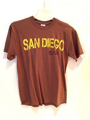 San Diego Padres T-shirt-heath Bell Autographed-classic Friar Wear-medium Direktverkaufspreis Baseball & Softball Fanartikel