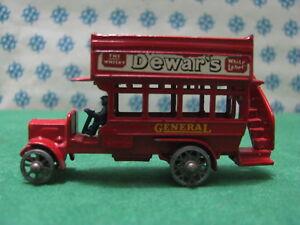 Vintage-Matchbox-034-8-034-type-London-Bus-1912-1920-Lesney-n-Y2