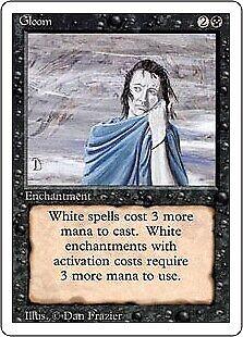 MTG 4x GLOOM Revised *Hate White*