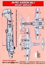 KORA Models Decals 1/72 AVRO ANSON Mk.I in Soviet Russian Service