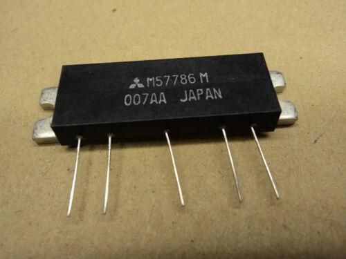 New M57786M Mitsubishi 430-470MHz 7.2V 7W FM Module NOS UHF M57786 M FASTEST S//H