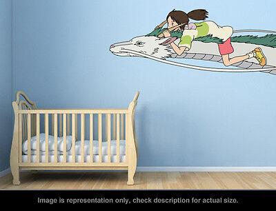 Ghibli Spirited Away - No Face Wall Art Applique Sticker