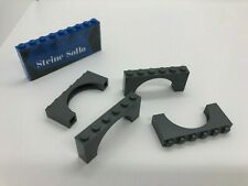 LEGO 4 x Bogen neuhell grau Light Bluish Gray Brick Arch 1x6x2 Curved Top 6183