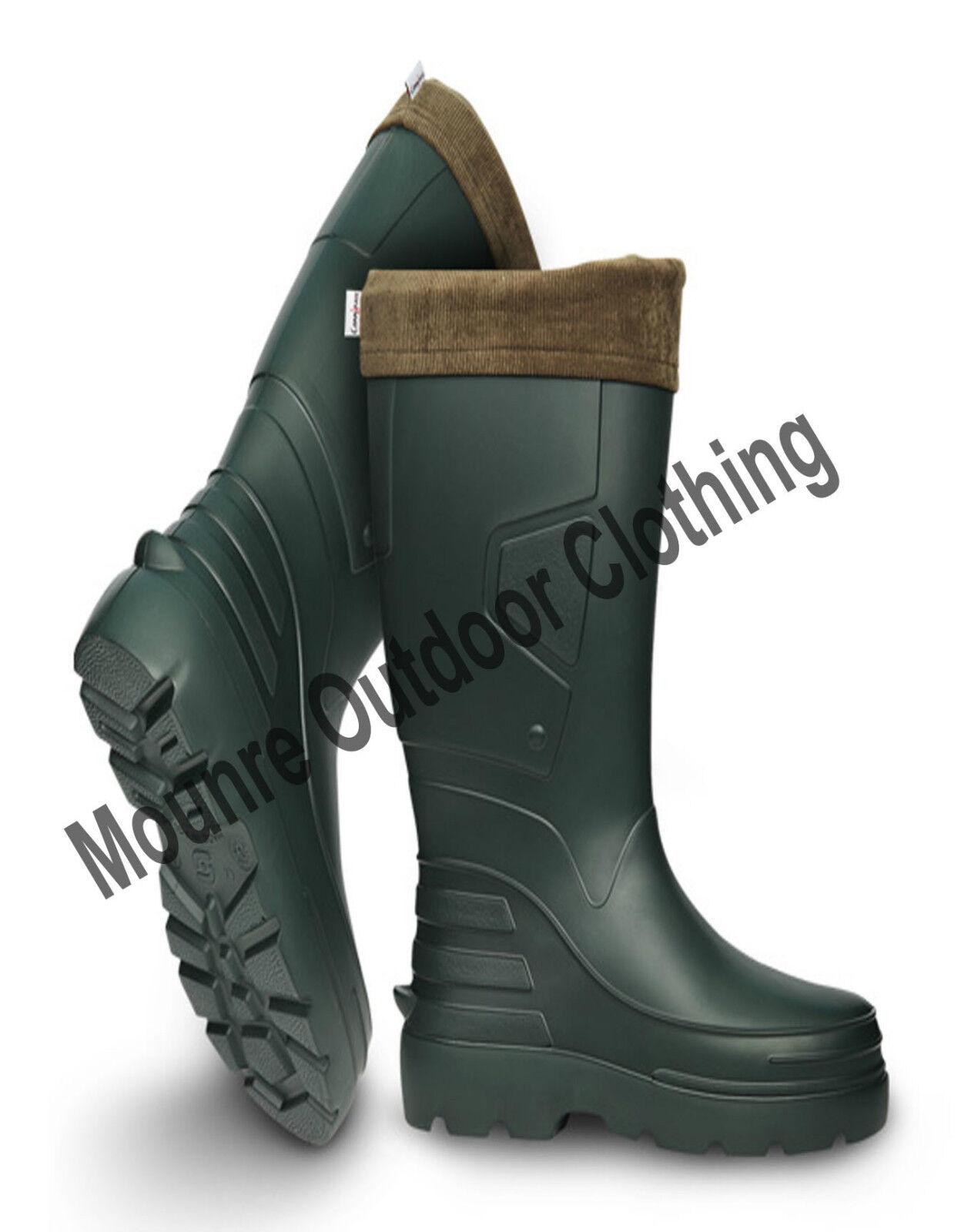 New Camminare Angler Agri Pro Lite Thermal Lightweight Wellington EVA Rain Boots