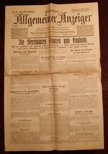 Erfurt-General-Display-7-March-1915-Historical-Newspaper-1-Weltkrieg