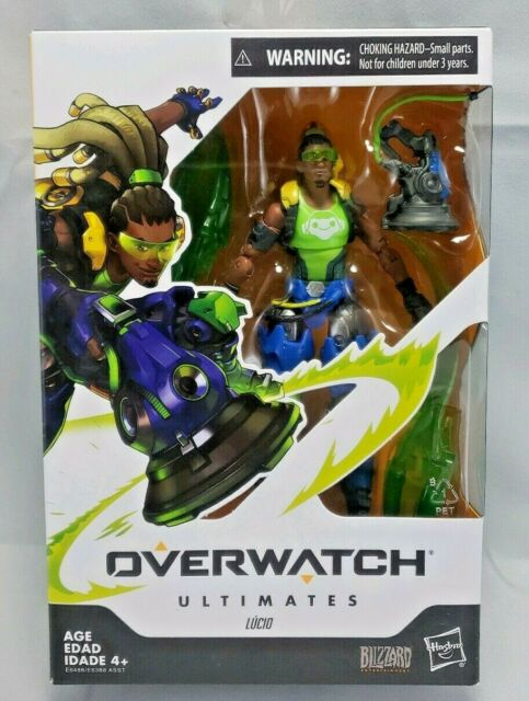 Overwatch Ultimates Series Lucio 6-Inch Collectible Action Figure NIB