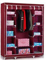 Super- Folding Wardrobe Cupboard Almirah-Xii- Double-Mrn