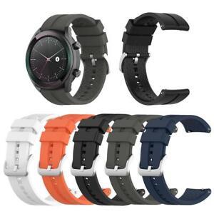 Sport-Silikon-Uhrenarmband-Ersatz-fuer-Huawei-Watch-GT-Elegant-42mm