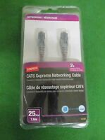 Staples Cat6 Supreme Networking Cable / 25 Ft -