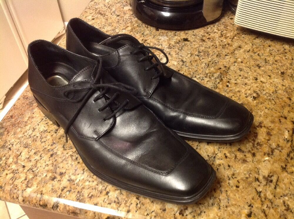 Kenneth Cole New York with Silver Technology Men Shoes,Black, Size 11.5 M