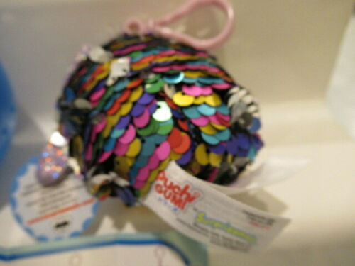 Surprizamals Puchi Gumi Reversible Sequins Olivia Owl   ball flyer tags !