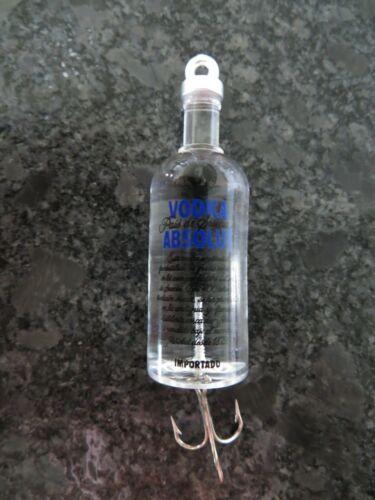 2 3//4 inch Absolute Vodka Bottle Fishing Lure