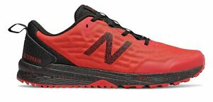 New-Balance-Men-039-s-NITREL-v3-Trail-Shoes-Red-with-Black