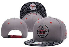 Hot !Bboy Adjustable cotton Men Women Baseball Snapback Cap Hip-hop Hat Uk Stock