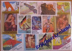 200-verschiedene-Briefmarken-aus-Guinea-Bissau-Guinee-Bissau