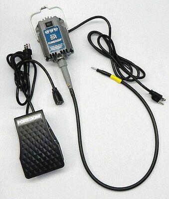 Foredom M.SR-FCT Flex Shaft Kit Flexible SR 1//6HP Hanging Motor /& FCT Control