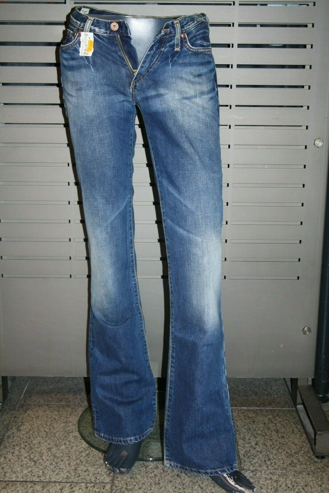 Pepe Jeans Londen Ladies Chelsea Boot Leg New Dark Stone Vintage