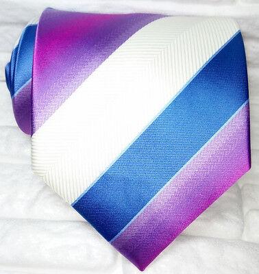 Onestà Cravatta Uomo 100% Seta Made In Italy Multicolore Business Evento Informale I Cataloghi Saranno Inviati Su Richiesta