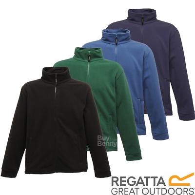 REGATTA FLEECE JACKET FULL ZIP POCKETS COLLAR WARM COMFORTABLE MEN/'S S-4XL OFFER