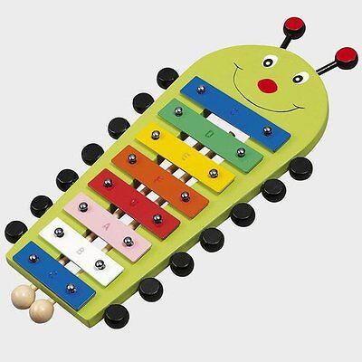 BABY-WALZ Xylophon Käfer Musik-Spielzeug NEU mehrfarbig