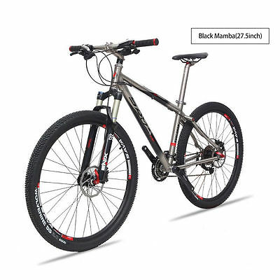 SAVA 27 5 Black Mamba MTB Mountain Bike Bicycle Titanium