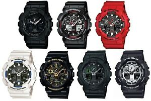 Casio-G-Shock-Dual-Display-Chronograph-Resin-Strap-Gents-Sports-Watch