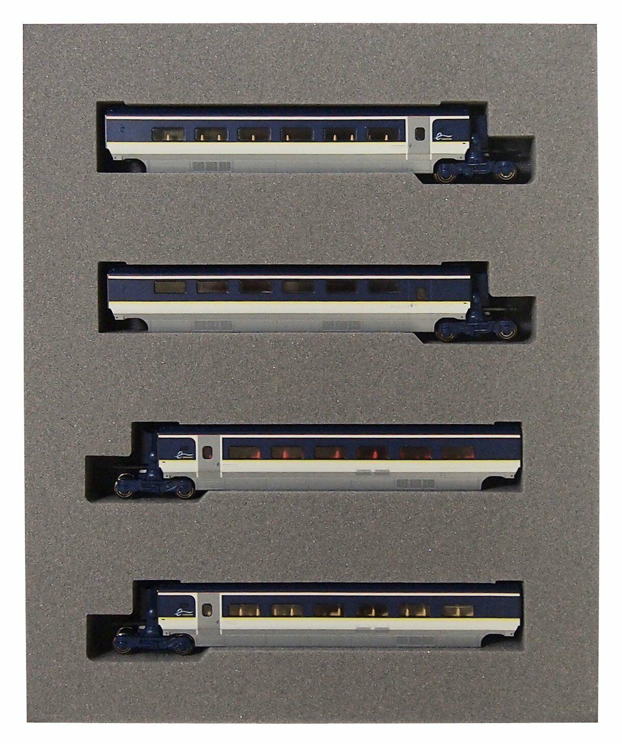 Kato EuroEstrella e300 4-Coche conjunto de 10-1298 Add-on