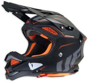 UFO Diamond Off-Road Helmet - Black (XS 53-54cm)
