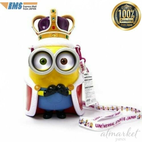 USJ Minion King Bob Popcorn Bucket Official Limited about 32cm Toy from JAPAN