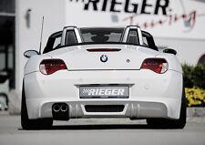 Rieger Heckansatz für Doppelendrohr links 2x76mm für BMW Z4 E85/ E86 ab Facelift