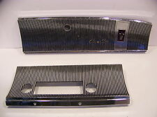1964 CHRYSLER IMPERIAL AM RADIO PLATE 2492740 CROWN COUPE GLOVEBOX DOOR 2492735