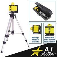 Coffret Niveau Laser Rotatif 360° - Portée de 30m - GARANTIE 3 ANS