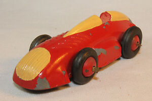 1950 S Timpo Toy Racing Car Yellow Red Original Ebay