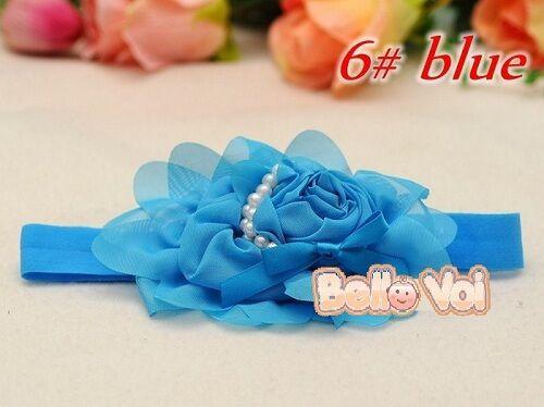 Flower Bow Headband Hair Clothing Accessories Girls Baby Infant Toddler Children