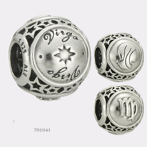 1a89e171e Image is loading NEW-Authentic-Pandora-Sterling-Silver-Virgo-Star-Sign-