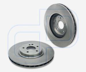 2-Bremsscheiben-MERCEDES-SL-R230-Cabrio-ab-Bj-2001-vorne-Durchmesser-334-mm-belue