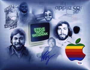 Steve Woz Wozniak SIGNED 11x14 Photo Apple 1 Computer Jobs PSA/DNA AUTOGRAPHED
