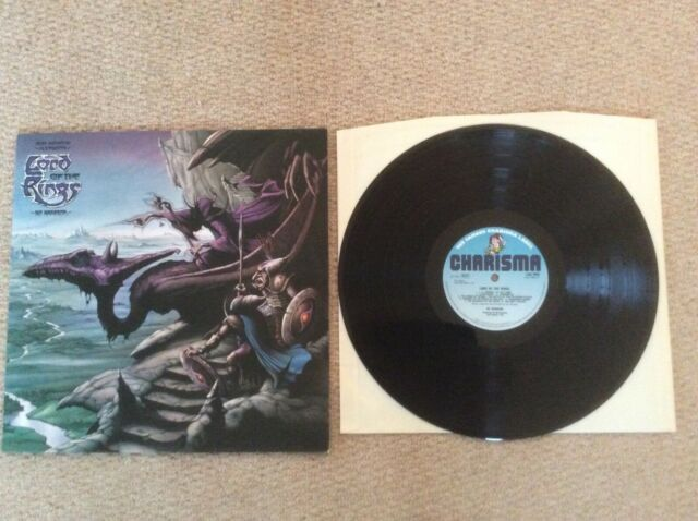 Bo Hansson vinyl LP album record Lord Of The Rings  CAS1059 CHARISMA