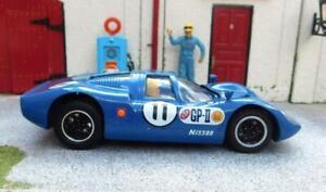 1/32 RESIN BODIED NISSAN R380-2 SLOT CAR (RARE)  *UNIQUE* Mulsanne Models.