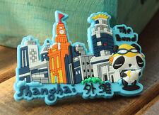 China ShangHai Reiseandenken Weichgummi Kühlschrankmagnet Souvenir Rubber Magnet