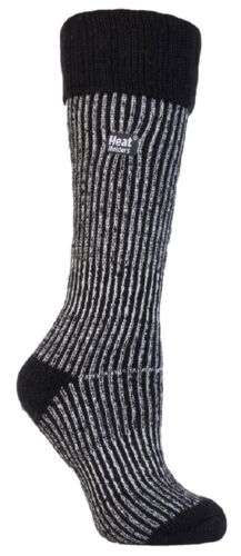 Heat Holders Ladies Womens Extra Thick Winter Thermal Long Ribbed Boot Socks