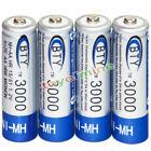 4-10ps x AA-Größenübertragung auf D-Größen-Batterie-Adapterhalter-Fall-Konverter