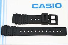 CASIO 20MM BLACK RUBBER SPORT WATCH BAND STRAP FITS DW1000 DW1500C DW2000