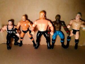 WCW-Vintage-Wrestlers-Action-Figures-Rare-Toys-World-Championship-Wrestling-1999
