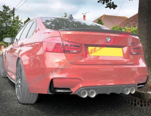 BMW M3 M4 Paraurti Posteriore in Fibra di Carbonio Spoiler-F80 F82 F83-PARAURTI Splitter